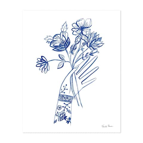 Noir Gallery Floral Tattoo Illustration Unframed Art Print/Poster