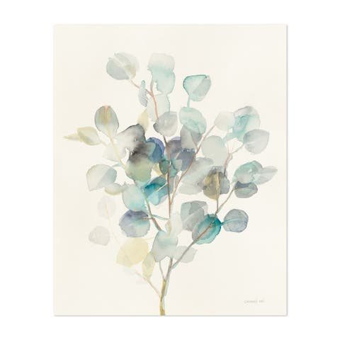 Noir Gallery Watercolor Floral Painting Unframed Art Print/Poster
