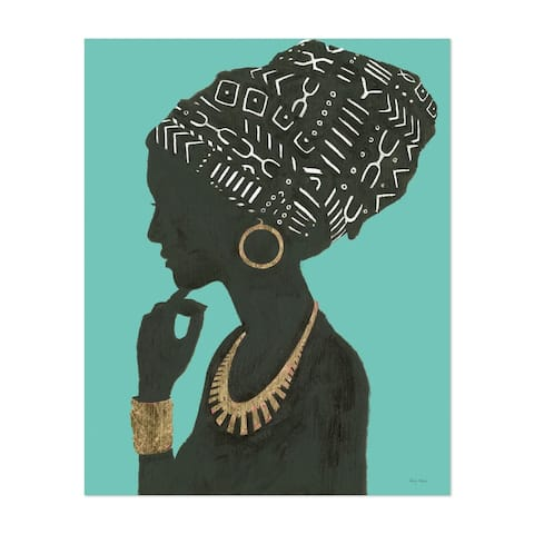 Noir Gallery Feminine Fashion African American Unframed Art Print/Poster