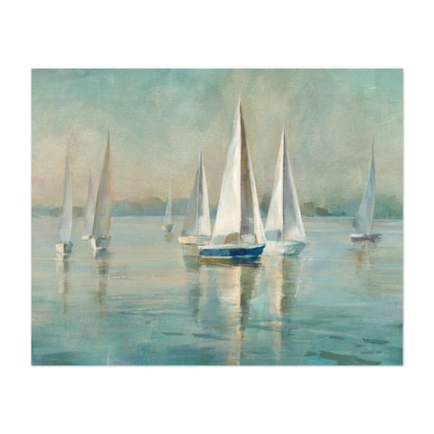 Noir Gallery Beach Sailboat Nautical Boats Unframed Art Print/Poster
