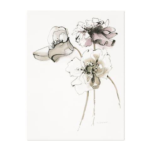 Noir Gallery Watercolor Floral Illustration Unframed Art Print/Poster