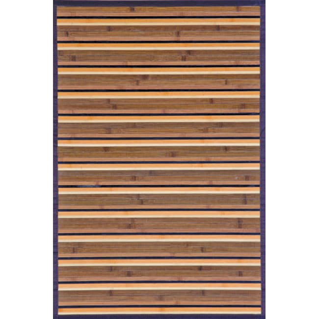 Beige Rayon from Bamboo Area Rug (3' x 5')