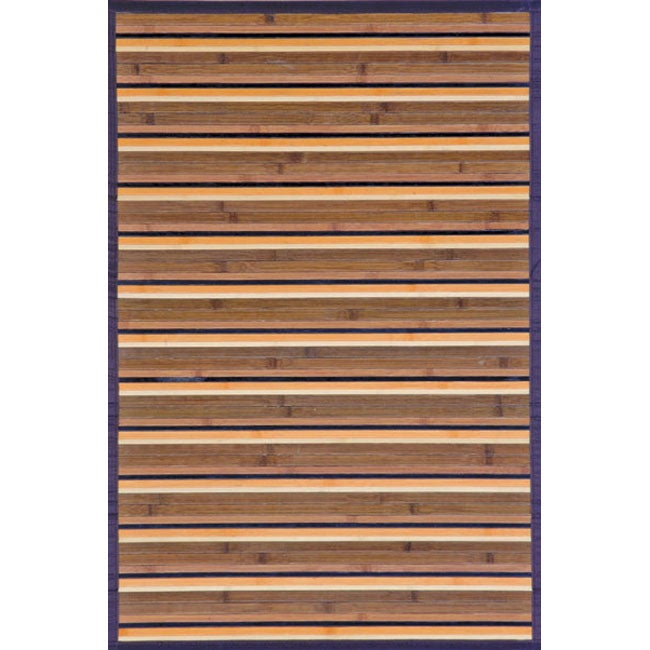 Beige Rayon from Bamboo Area Rug (4' x 6')