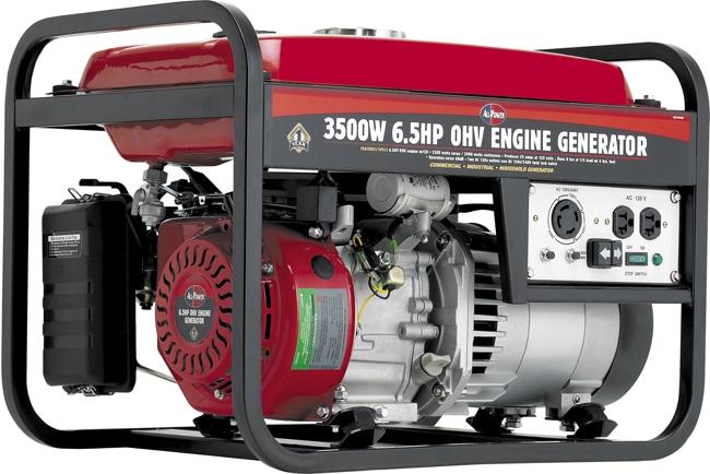 3500-watt 6.5HP OHV Electric Generator