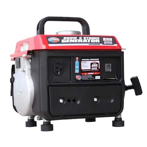 900 Watt Gasoline Powered Portable 2 Stroke Generator