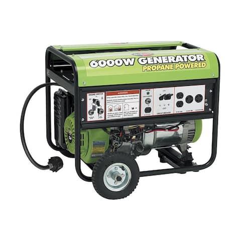 6000-watt 13HP OHV Propane Generator