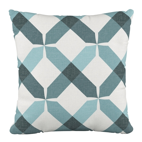 Skyline Furniture 18 x 18 Pillow in Hanna Teal