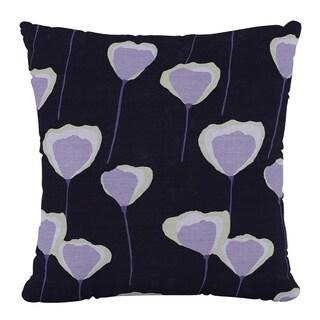 Skyline Furniture 18 x 18 Pillow in Poppy Periwinkle