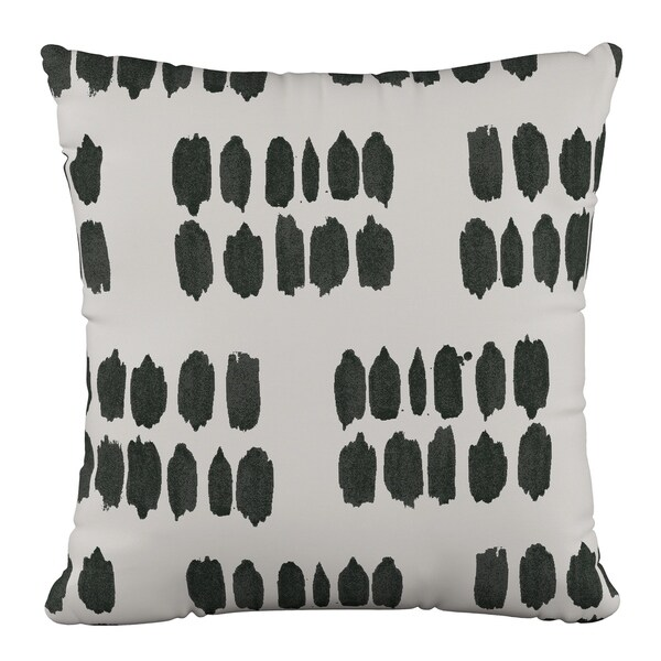 Skyline Furniture 18 x 18 Pillow in Inked Dot Cream