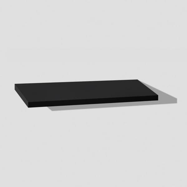 8 x 24 x 1 2 pk Black Slim Floating Shelves
