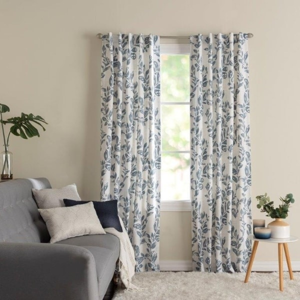 Miller Curtains Oswald Back Tab Blackout Panel. Opens flyout.