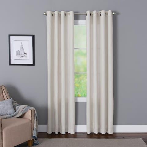 Miller Curtains Dalton Grommet Top Curtain Panel
