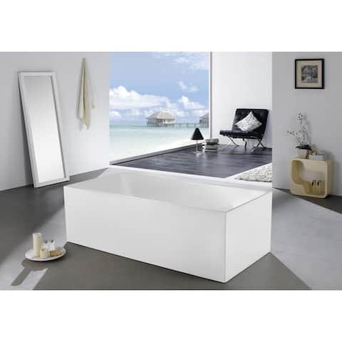 Alma Levoir 63 inch Free Standing Bathtub