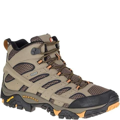 Merrell J06057 Men's Moab 2 Mid GTX Hiking Boot, Wallnut, 10