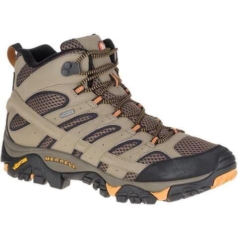 Merrell J06057 Men's Moab 2 Mid GTX Hiking Boot, Wallnut, 9.5