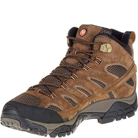 Merrell J06051 Men's Moab 2 Mid Waterproof Hiking Boot, Earth, 9