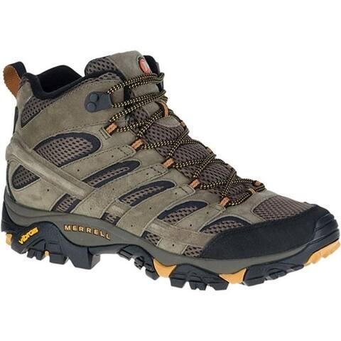 Merrell J06045 Men's Moab 2 Vent Mid Hiking Boot, Walnut, 9