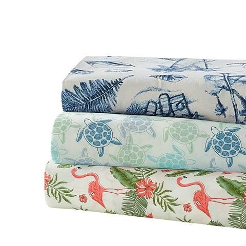Harper Lane Tropical Paradise 4-piece Bed Sheet Set