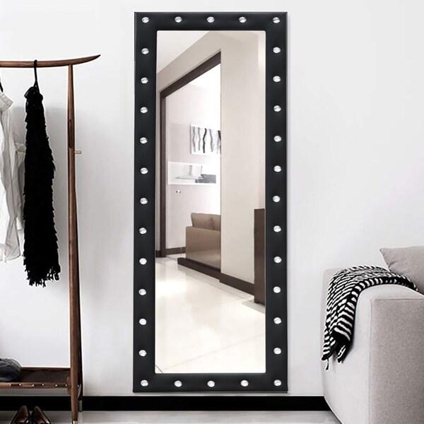 Tufted Glam Full Length Mirror