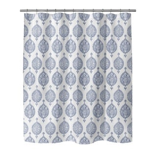 ENDANA PERIWINKLE Shower Curtain by Kavka Designs