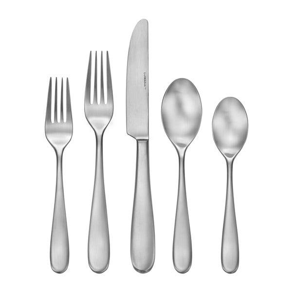 Craft Kitchen 33-Piece Satin Classic Flatware Set, Service for 6