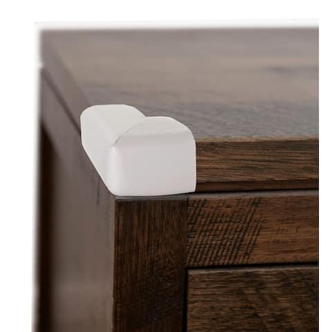 Dreambaby Gray Adhesive Foam Corner Cushions 4 pk