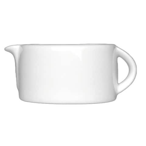 Concavo 1 Cup Porcelain Gravy/Sauce Boat