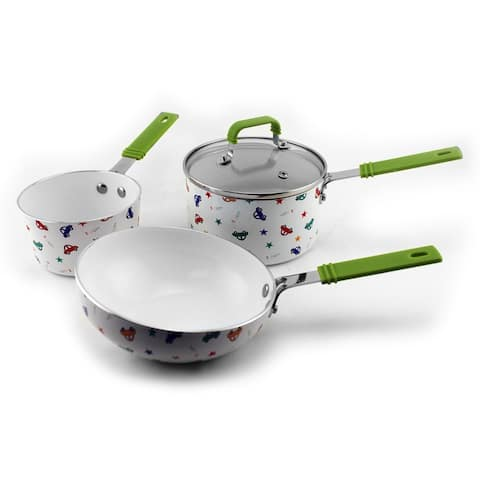 CookNCo Children's 4pc Cookware Set, Boys