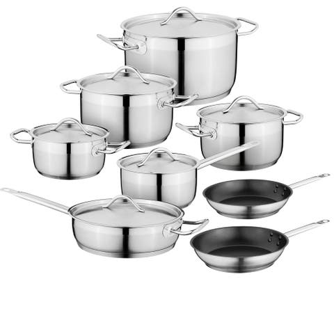 Kasta 18/10 SS 6pc Cookware Set