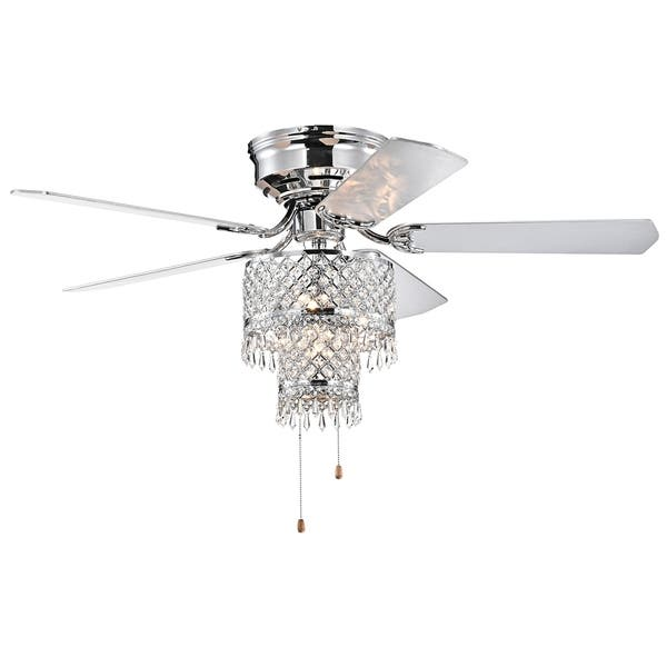 Silver Orchid Lawrence Pull Chain Ceiling Fan Overstock 30504632