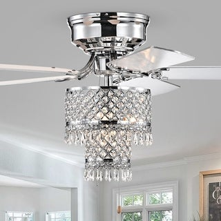 Silver Orchid Lawrence Pull-chain Ceiling Fan