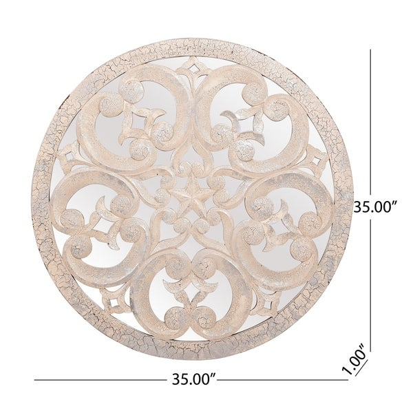 """Poeyfarre Traditional Wall Accessory by Christopher Knight Home - 40.00"""" W x 0.50"""" D x 28.00"""" H"""