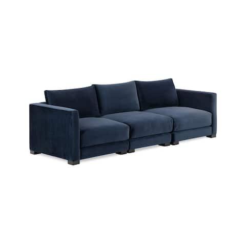 EdgeMod Shelby Sofa in Oxford Blue