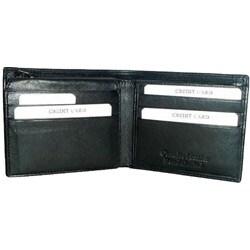 Kozmic Leather Bi-fold Wallet - Thumbnail 1