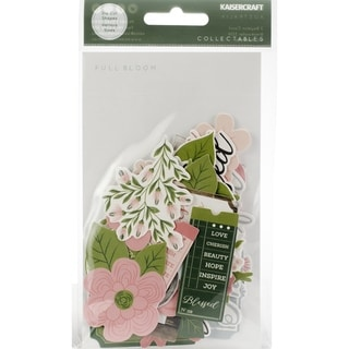 Kaisercraft Collectables Cardstock Die-Cuts-Full Bloom