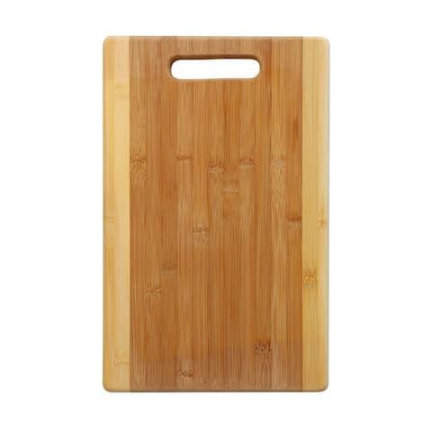YBM Home Bamboo Cutting Board with Handle