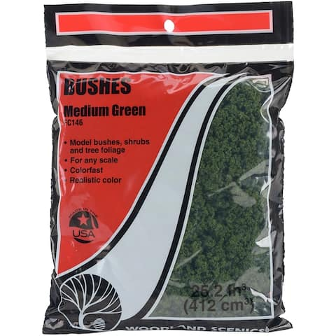 Bushes 18 To 25.2 Cubic Inches-Medium Green, FCBUSH-FC146