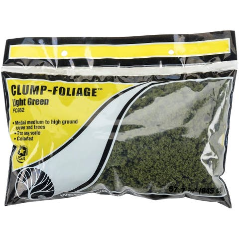Clump Foliage 57.7 Cubic Inches-Light Green, FCCLFOL-FC682