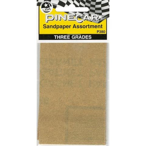 Pine Car Derby Sandpaper Assortment-, P380