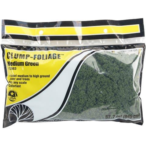 Clump Foliage 57.7 Cubic Inches-Medium Green, FCCLFOL-FC683