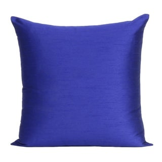 Handmade Solid Polydupion Pillow Cover