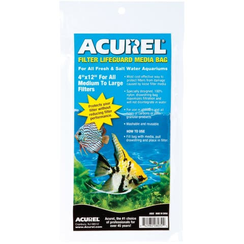 Acurel Filter Lifeguard Media Bag 4X12-, 8032