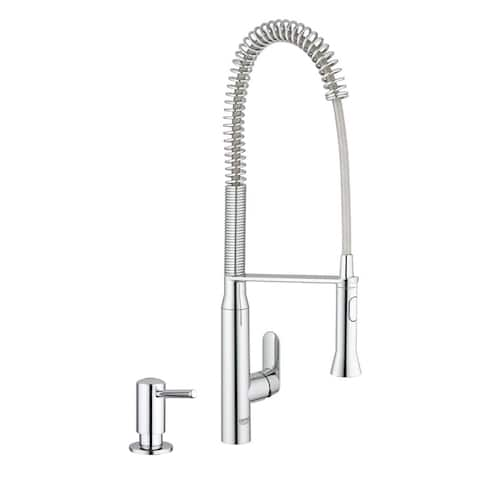 Grohe K7 Semi-Pro Kitchen Faucet with Soap Dispenser