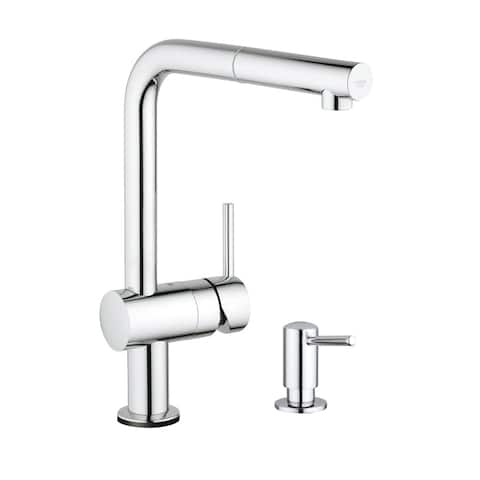 Grohe Minta Touch Kitchen Faucet with Soap Dispenser