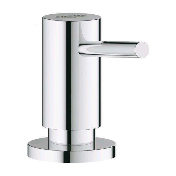 Shop Grohe Eurosmart Pull Out Kitchen Faucet With Soap Dispenser Overstock 30509632 Chrome