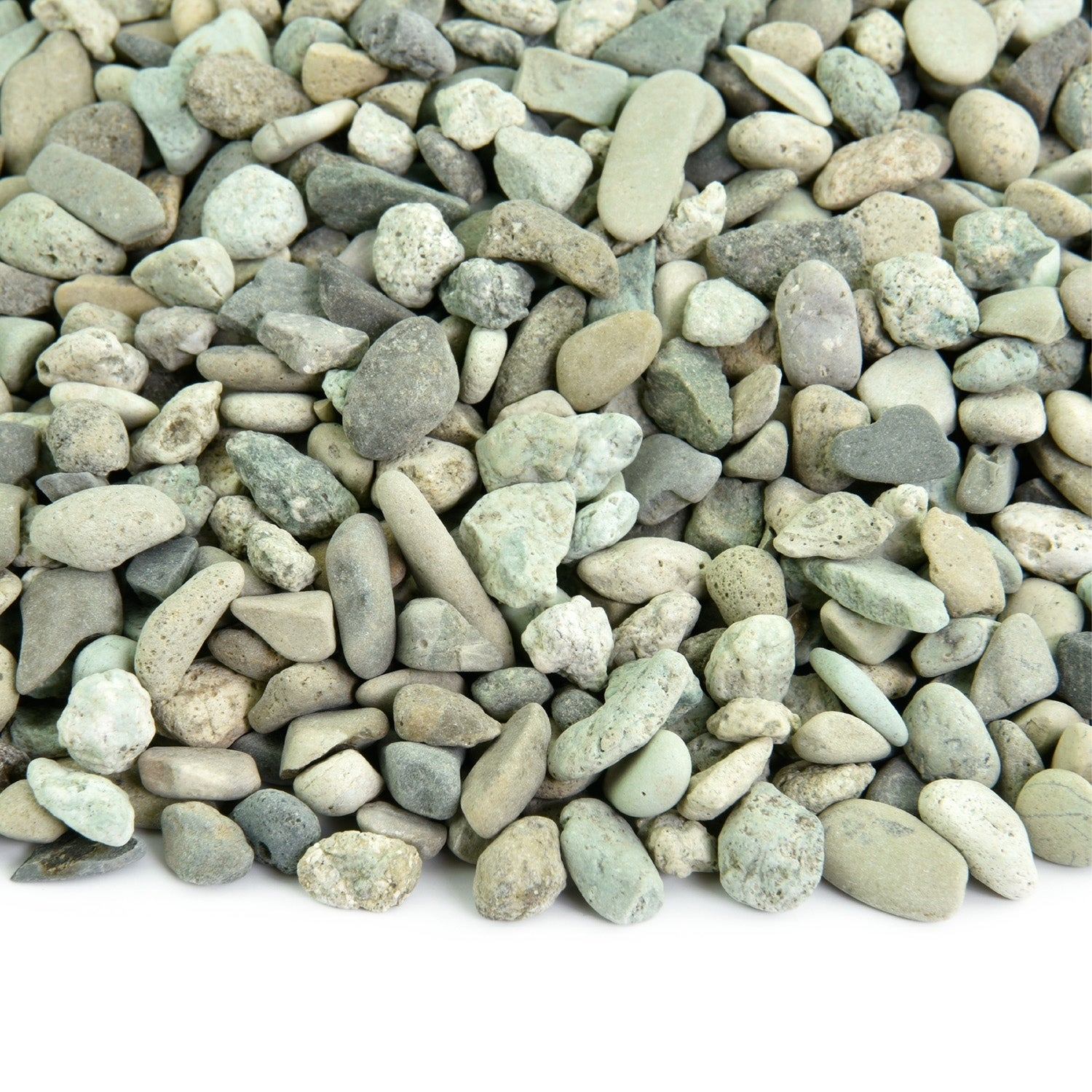 Polynesian Pebble 20 Lbs Natural Decorative Stones Smooth White Rock Landscaping Gardening Potted Plants And Terrariums Overstock 30509836