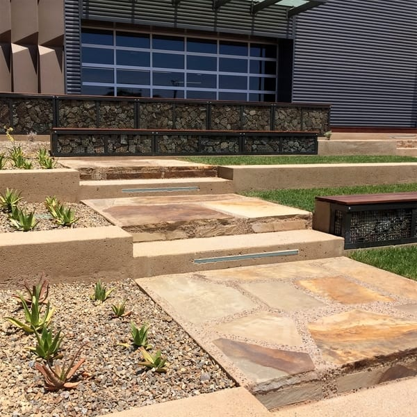 Shop Landscape Patio Flagstone Natural Rock Pathway Stepping