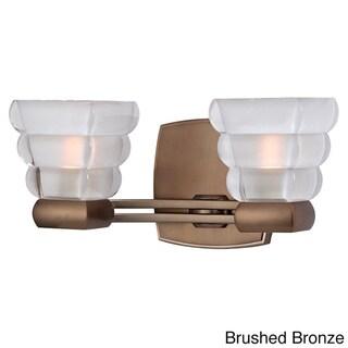 Link to Hudson Valley Warren 2-light Bath Bracket in Bronze (As Is Item) Similar Items in As Is