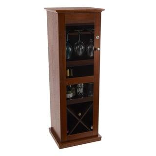Link to Atlantic Herrin Chestnut Locking Bar Cabinet Similar Items in Dining Room & Bar Furniture