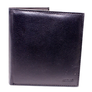 Kozmic Black Leather Wallet